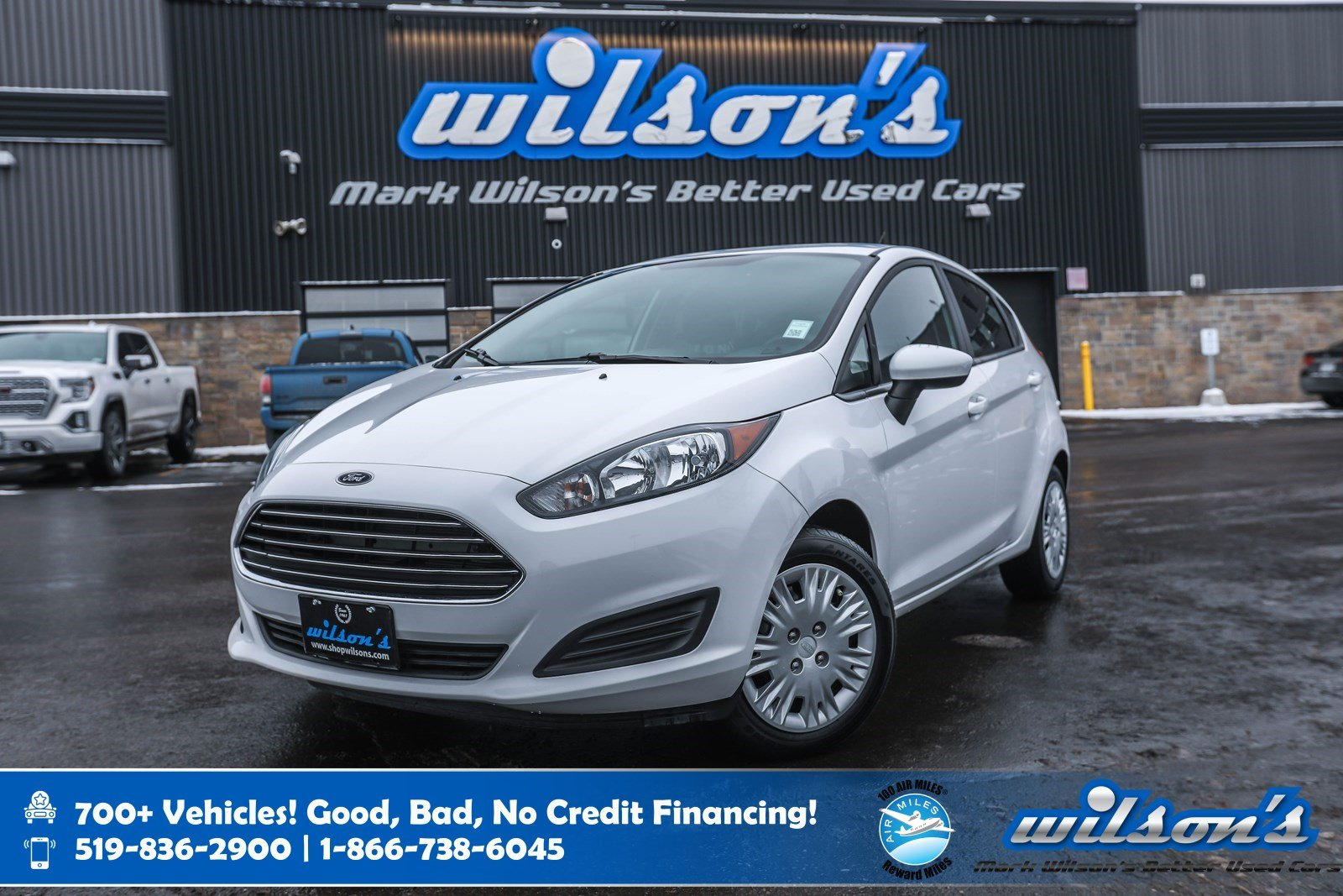 Certified Pre-Owned 2017 Ford Fiesta S Hatchback, 5 Speed, CLEAN CARPROOF! Bluetooth, A/C, Keyless Entry