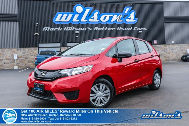 Certified Pre-Owned 2016 Honda Fit DX Hatchback - NEW TIRES! 6 Speed, Bluetooth, Steering Radio Controls, Power & Locks, CD Player