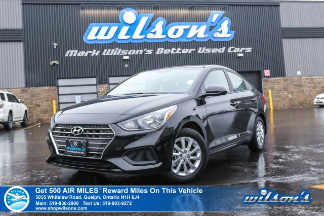 Certified Pre-Owned 2018 Hyundai Accent GT - Rear Camera, Heated Seats, Apple Carplay & Android Auto, Alloys, & More!