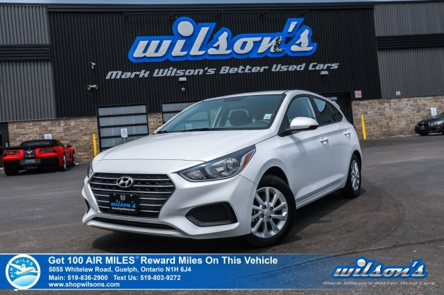 Certified Pre-Owned 2019 Hyundai Accent Preferred Hatchback - Heated Seats, Apple CarPlay+Android Auto, Bluetooth, Rear Camera, Alloy Wheel