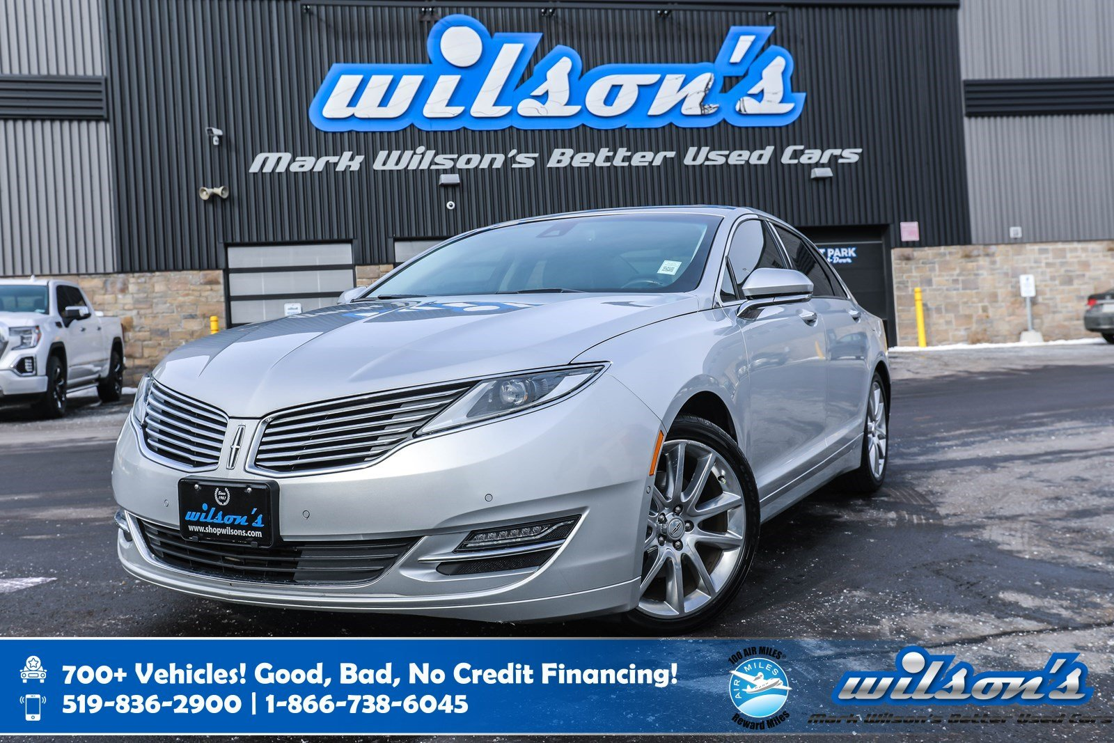 Certified Pre-Owned 2016 Lincoln MKZ AWD, Leather, Navigation, Sunroof, Heated Steering + Seats, Rear Camera, Blindspot Alert and more!