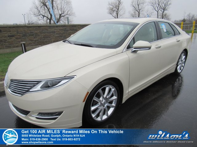 Certified Pre Owned 2017 Lincoln Mkz Hybrid Reserve Leather Navigation Sunroof Blind Spot Detection Heated Steering And More