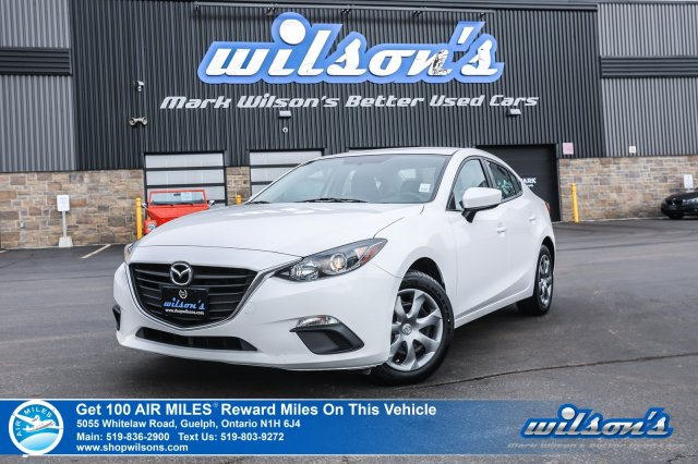 Certified Pre-Owned 2015 Mazda3 GX - Bluetooth, A/C, Push Start, Keyless Entry, Power Package and more!