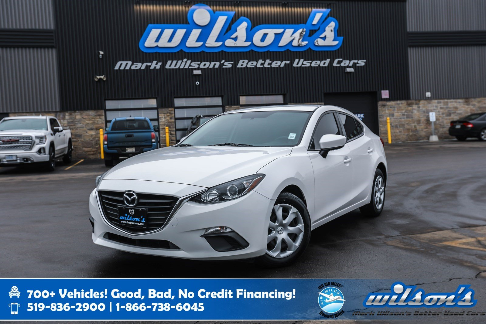 Certified Pre-Owned 2015 Mazda3 GX, 6 Speed, Bluetooth, New Tires, Keyless Entry, Power Package and more!