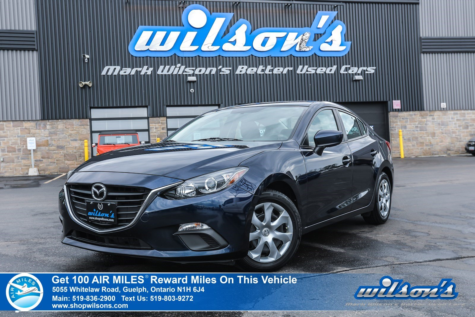 Certified Pre-Owned 2015 Mazda3 GX - LOW KM! Bluetooth, Steering Radio Controls, A/C, Push Start, Power Package and more!