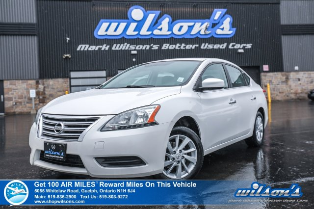 Certified Pre-Owned 2014 Nissan Sentra SV - Navigation, Sunroof, Rear Camera, Bluetooth, Heated Seats, Alloys and more!