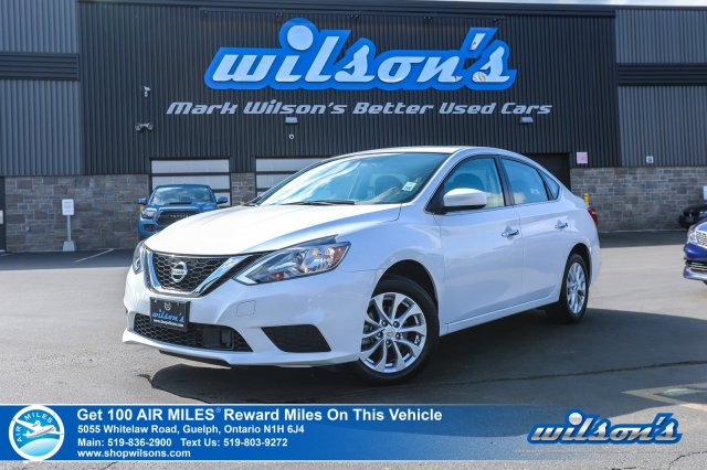 Certified Pre-Owned 2019 Nissan Sentra SV - Sunroof, Apple CarPlay +  Android Auto, Heated Seats, Bluetooth, Rear Camera, and more! FWD 4dr Car