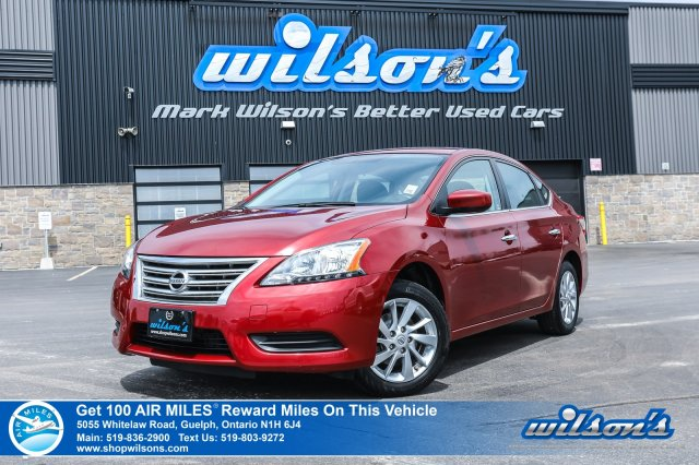 Certified Pre-Owned 2015 Nissan Sentra SV - Reverse Camera, Heated Seats, Bluetooth, Intelligent Key, Alloys & More!
