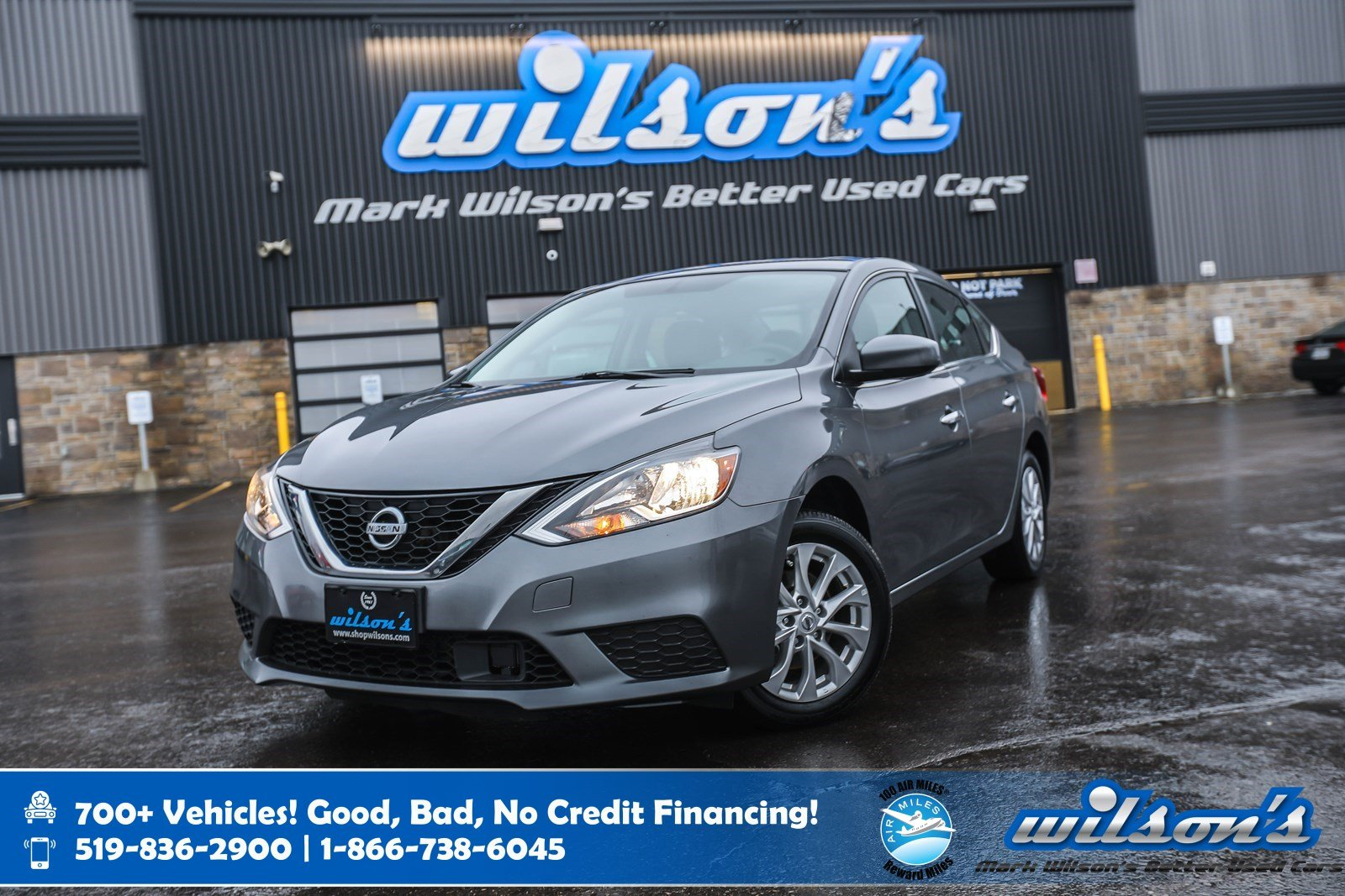 Certified Pre-Owned 2019 Nissan Sentra SV, Sunroof, Heated Seats, Android Auto + Apple CarPlay, Bluetooth, Rear Camera and more!