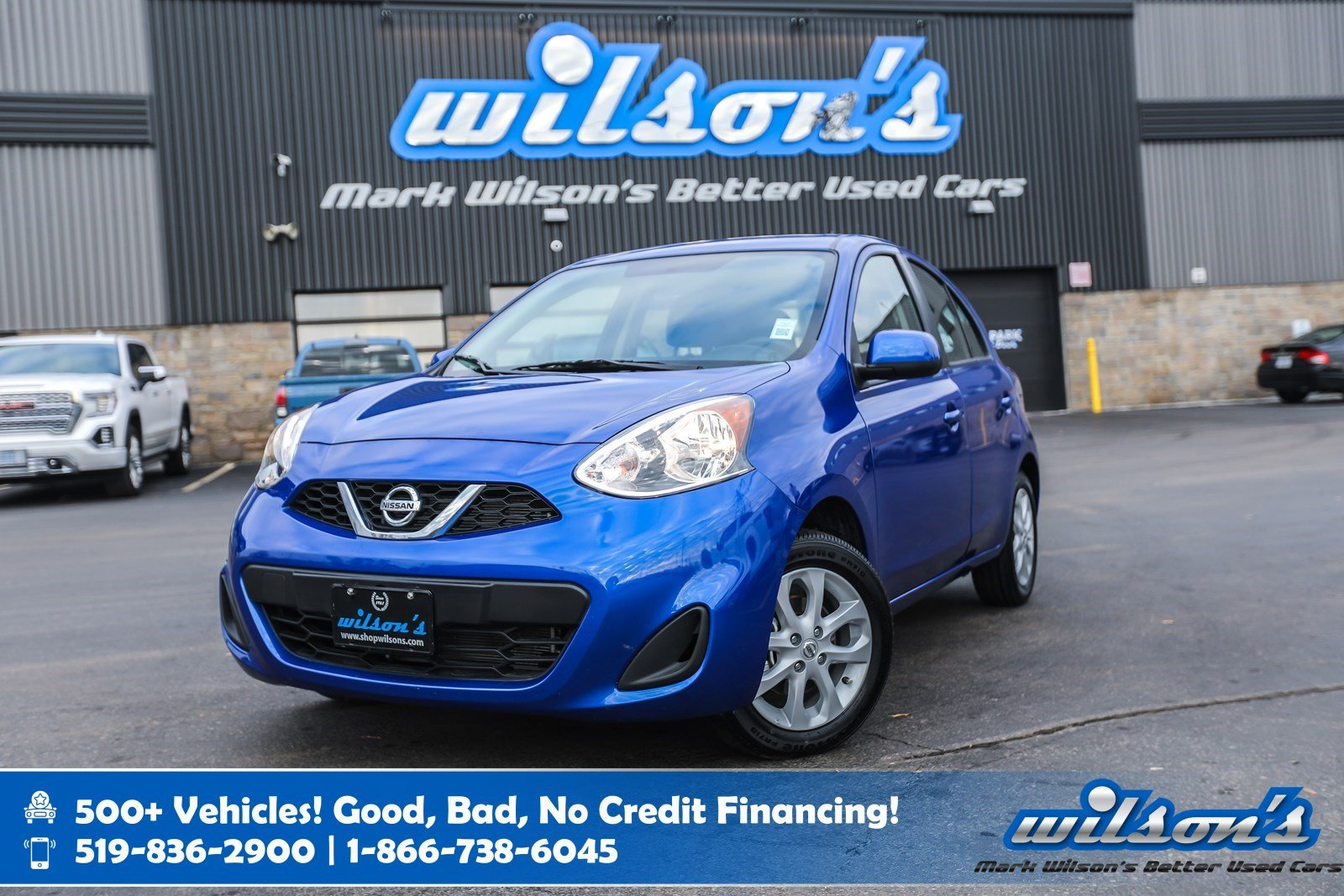 Certified Pre-Owned 2019 Nissan Micra SV Hatchback Used, Rear Camera, Bluetooth, Cruise Control, Power Group, and more!