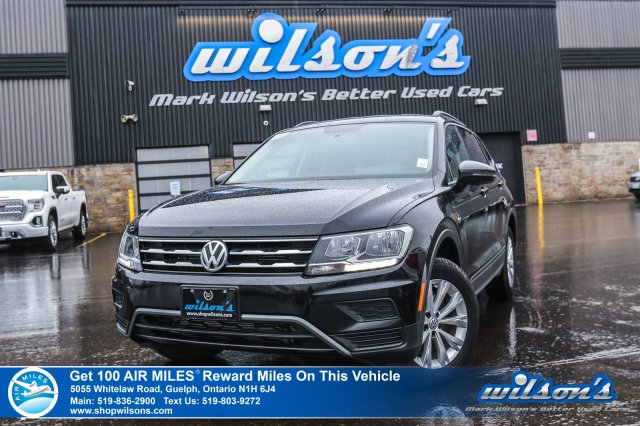 Certified Pre-Owned 2019 Volkswagen Tiguan Trendline AWD – Rear Camera, Bluetooth, Heated Seats & Mirrors, Touchscreen, & More!
