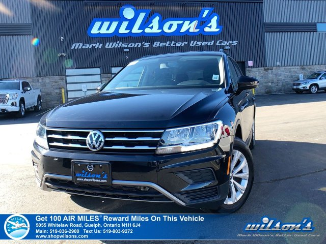 Certified Pre-Owned 2019 Volkswagen Tiguan Trendline AWD – Rear Camera, Bluetooth, Heated Seats & Mirrors, Touchscreen, Plus More!