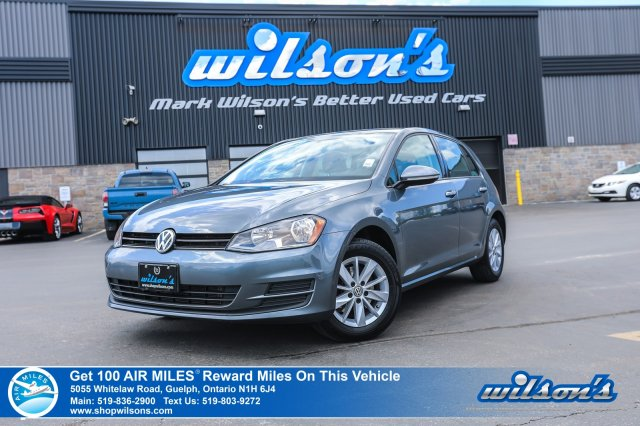 Certified Pre-Owned 2016 Volkswagen Golf Trendline - Rear Camera, Heated+Power Seats, Alloys, Cruise Control, Power Package and more!