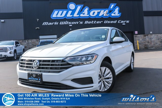 Certified Pre-Owned 2019 Volkswagen Jetta Comfortline - Apple CarPlay, Heated Seats, Rear Camera, Bluetooth and more!