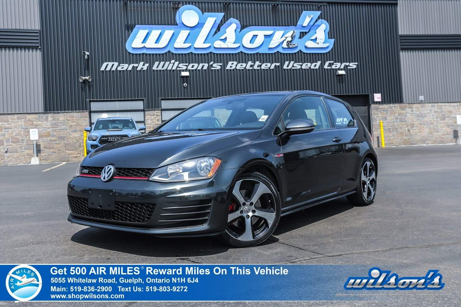 Certified Pre-Owned 2015 Volkswagen Golf GTI - NEW TIRES! 6 Speed, Sunroof, Bluetooth, Heated Seats, Alloys, Cruise Control, and more!