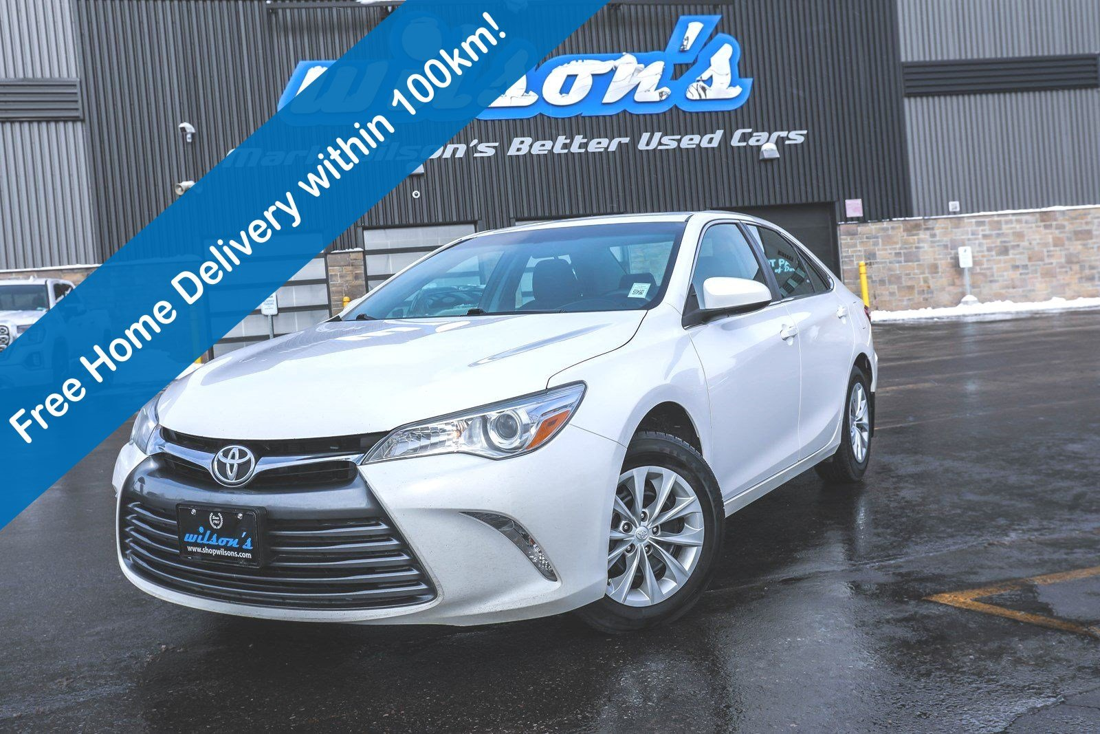 Certified Pre-Owned 2015 Toyota Camry LE, Rear Camera, Bluetooth, Keyless Entry, Cruise Control and more!