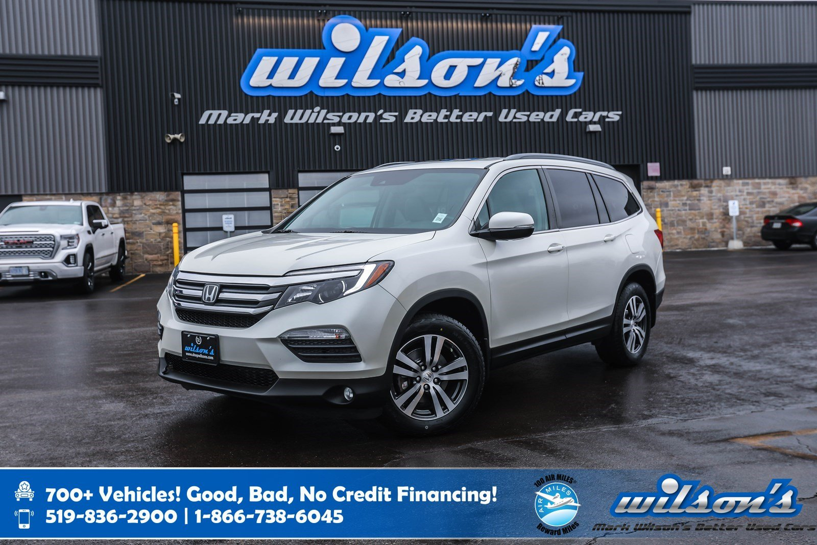 Certified Pre-Owned 2016 Honda Pilot EX-L 4x4 Leather, Navigation, Sunroof, New Tires, Heated Steering, Remote Start, Rear Camera & more!