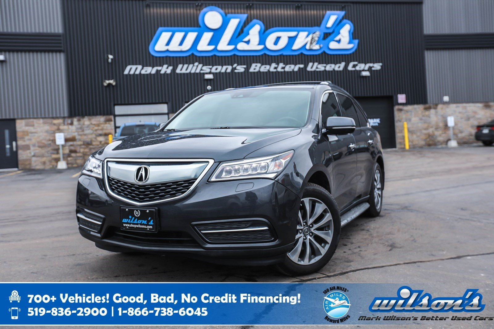 Certified Pre-Owned 2016 Acura MDX AWD, Navigation, Leather, Sunroof, Running Boards, New Tires, Memory Seats, Rear Camera & more