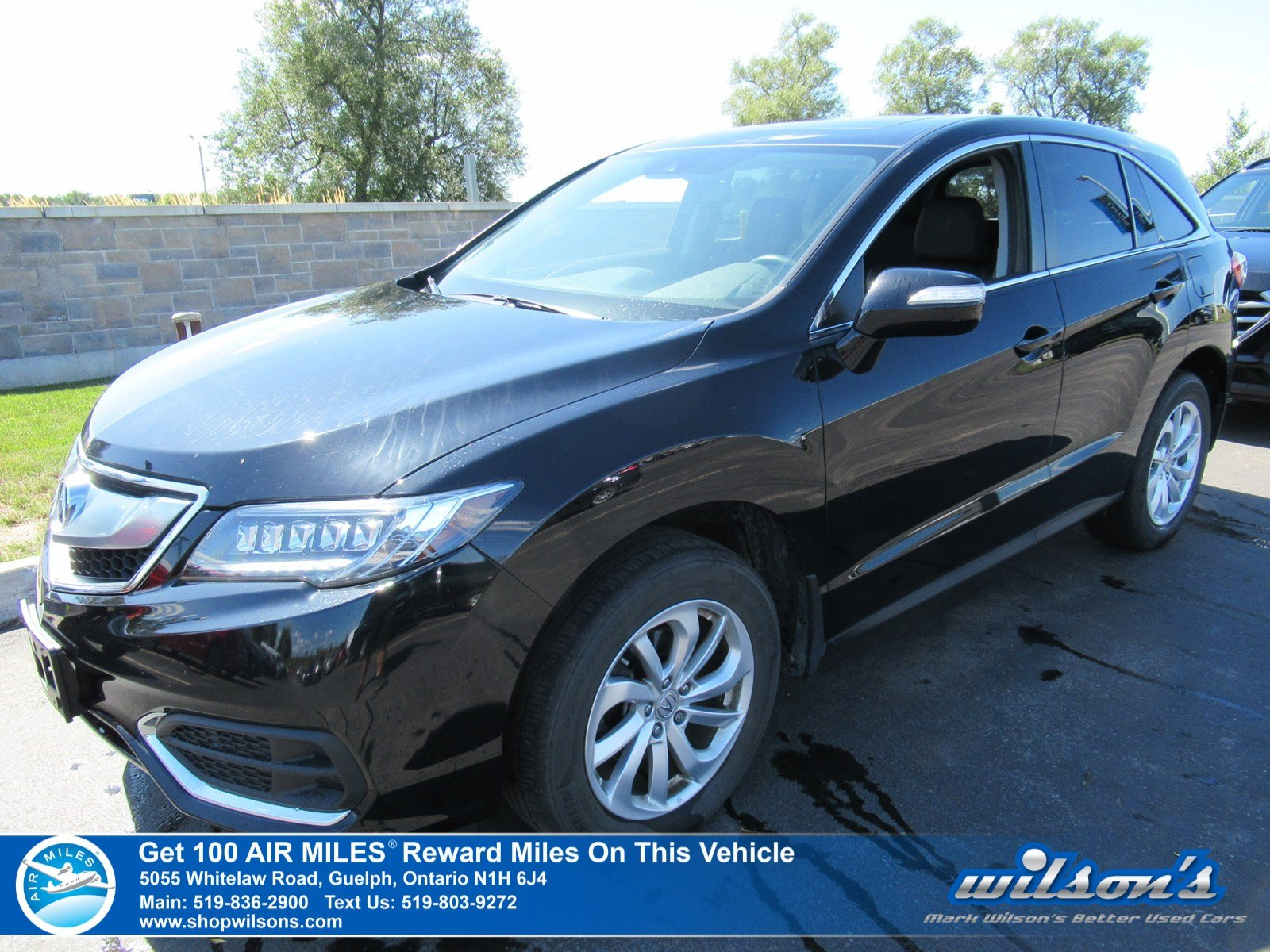 "Certified Pre-Owned 2017 Acura RDX AWD – New Tires! Leather, Sunroof, Bluetooth, Heated + Memory Seats, 18"" Alloys and more!"