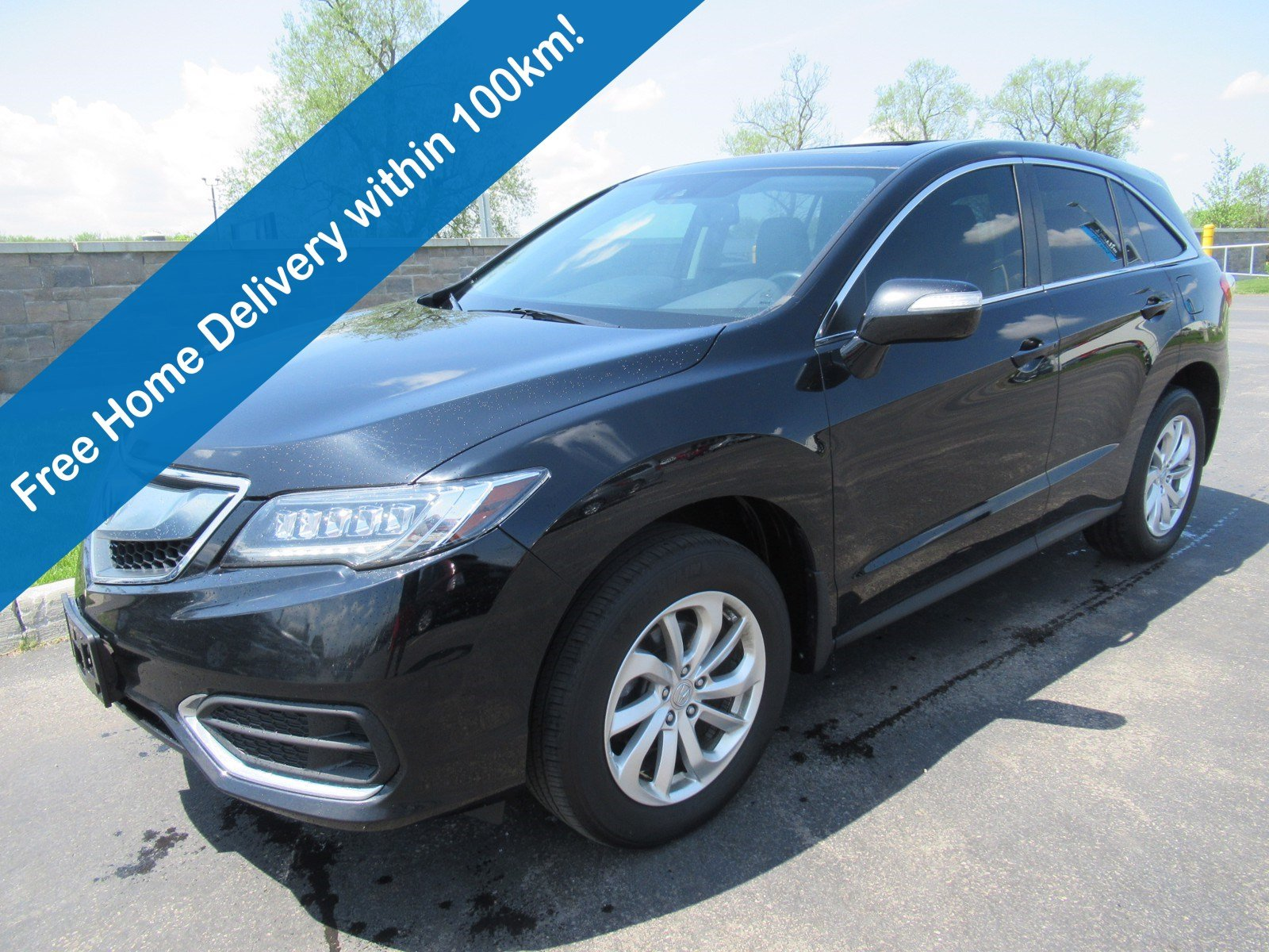 Certified Pre-Owned 2017 Acura RDX Tech Pkg AWD, Navigation, Leather, Sunroof, Memory Seat & Much More!