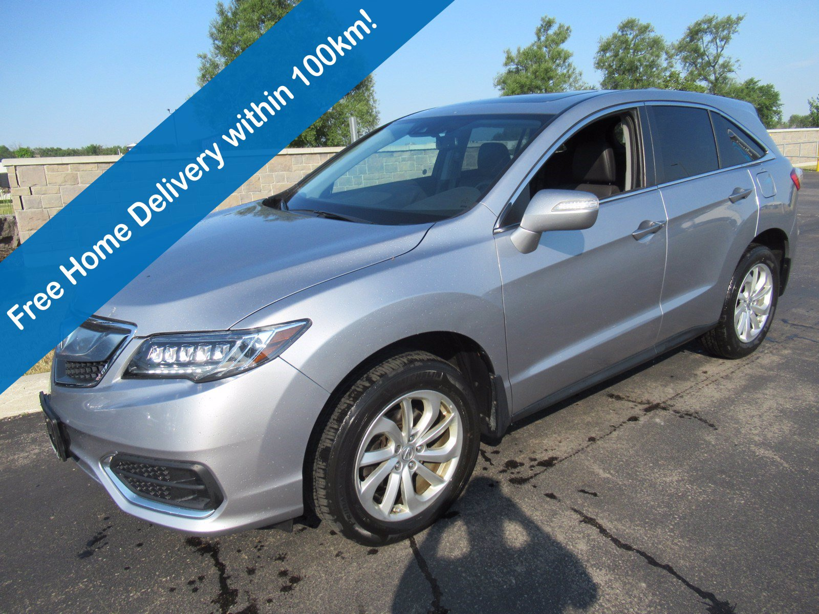 Certified Pre-Owned 2017 Acura RDX Tech Pkg AWD, Leather, Sunroof, Navigation, Power + Heated Seats & Much More!
