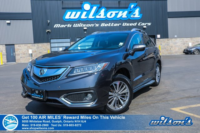 Certified Pre-Owned 2016 Acura RDX Elite Sport - AWD, Navigation, Leather, Sunroof, Running Boards, Front + Rear Heated Seats and more!
