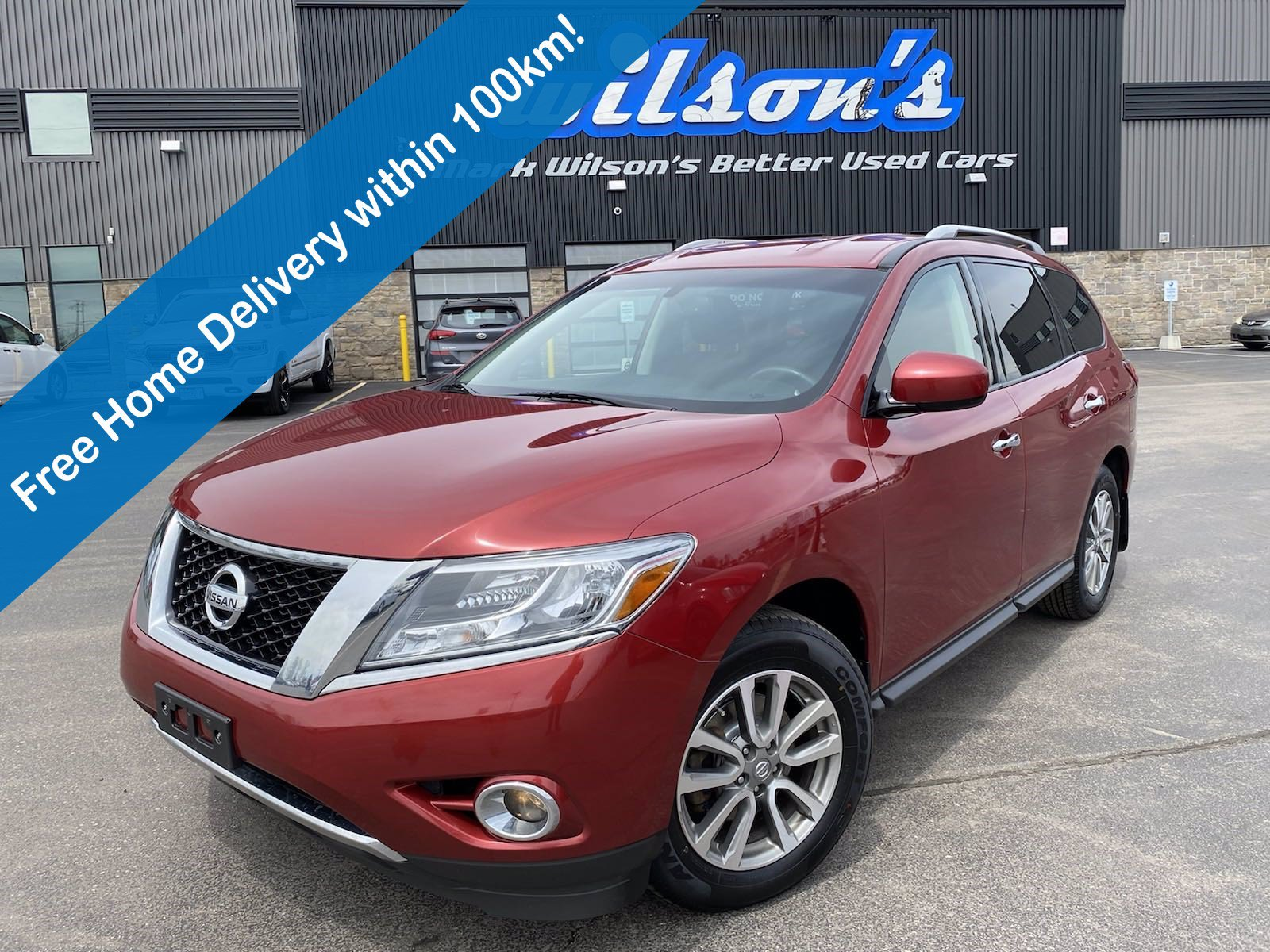 Certified Pre-Owned 2016 Nissan Pathfinder SV 4x4, Heated Steering & Seats, Power Liftgate, Rear Camera, Power Seat, Bluetooth and more!