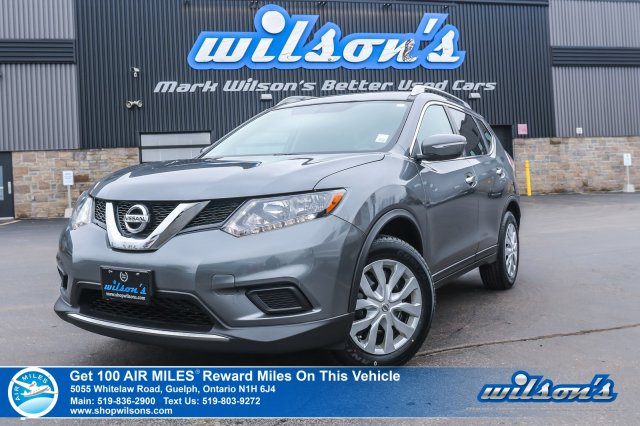 Certified Pre-Owned 2015 Nissan Rogue SV - NEW TIRES! Rear Camera, Bluetooth, Steering Radio Controls, Cruise Control and more!