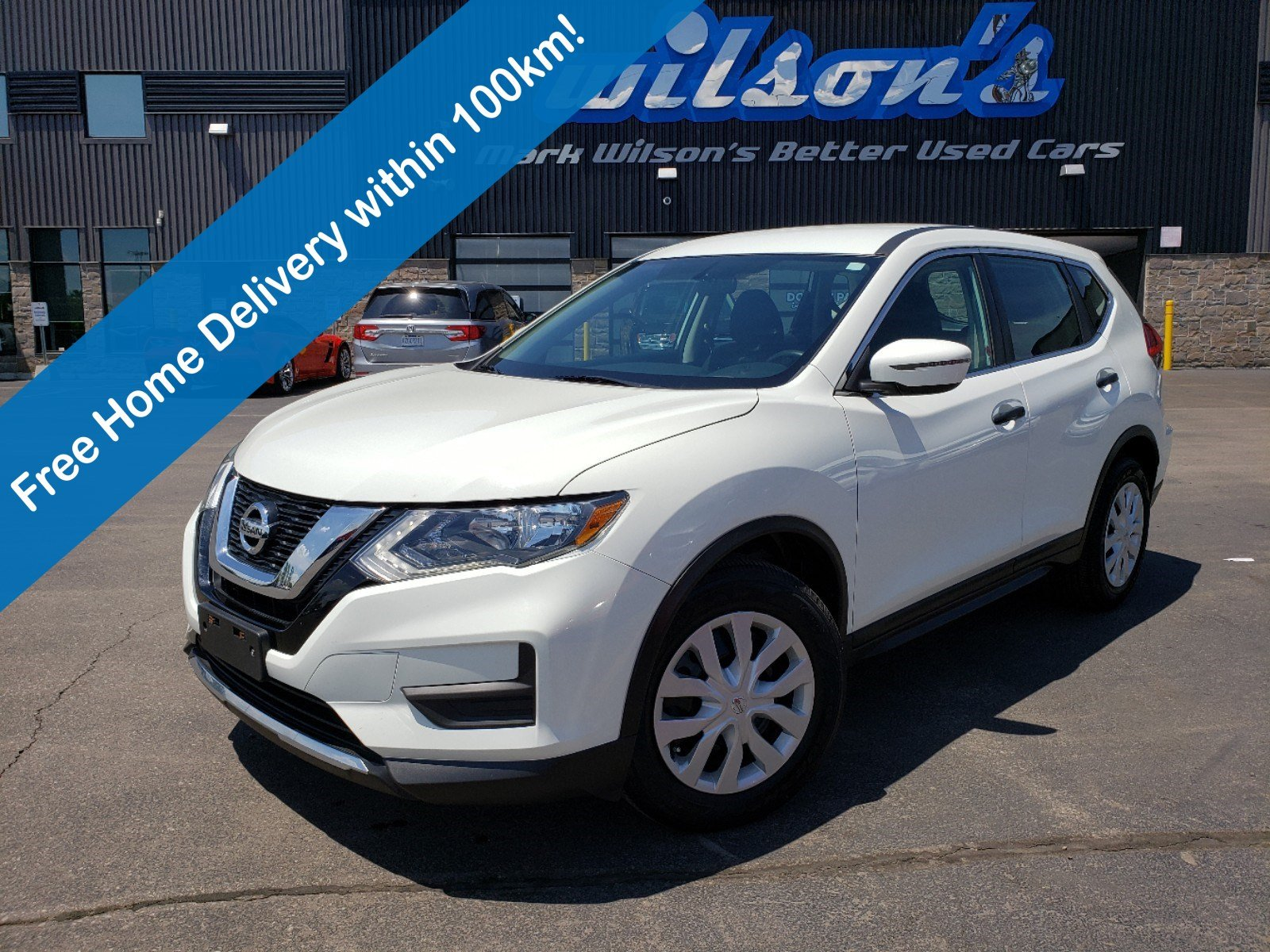 Certified Pre-Owned 2017 Nissan Rogue S, Heated Seats, Bluetooth, Rear Camera, and more!