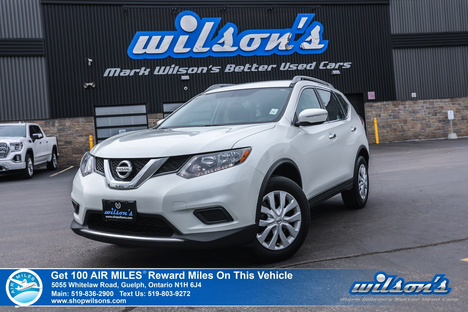 Certified Pre-Owned 2015 Nissan Rogue S AWD - Bluetooth,Cruise Control, Steering Radio Controls, Power Package and more!