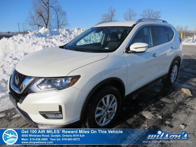 Certified Pre-Owned 2019 Nissan Rogue SV AWD - Heated Seats, Intelligent Cruise, Power Seat, Apple CarPlay / Android Auto, Blind Spot.
