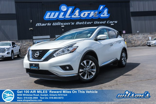 Certified Pre-Owned 2015 Nissan Murano SV - Navigation, Sunroof, Rear Camera, Heated + Power Seats, Bluetooth, Push Start and more!