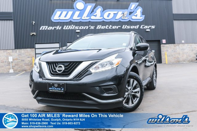 Certified Pre-Owned 2016 Nissan Murano S - Navigation, Rear Camera, Bluetooth, Heated Seats, Alloys, Cruise Control
