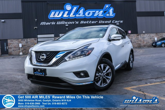 Certified Pre-Owned 2018 Nissan Murano SL AWD - Leather, Sunroof, Navigation, Rear Camera, Bluetooth, Power Liftgate, Bose and more!