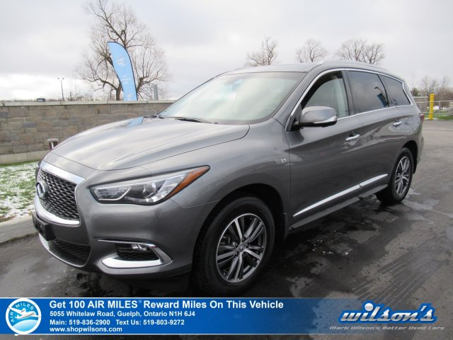 Certified Pre Owned 2017 Infiniti Qx60 Premium Awd Navi Sunroof Leather Remote Start Bose 13 Speaker System 360 Cam New Brake