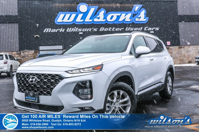 Certified Pre-Owned 2019 Hyundai Santa Fe Essential AWD - Rear Camera, Bluetooth, Safety Package, Heated Steering & Seats, Apple Car Play!