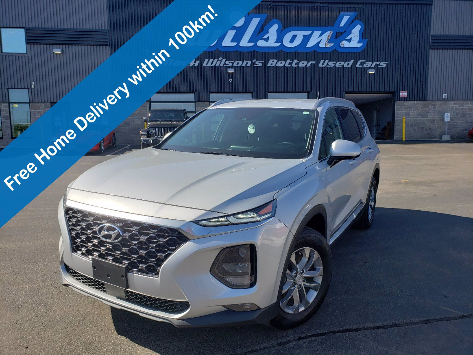 Certified Pre-Owned 2020 Hyundai Santa Fe Essential AWD with Safety Package, Apple CarPlay + Android Auto, Rear Camera, Bluetooth, Alloy Wheel