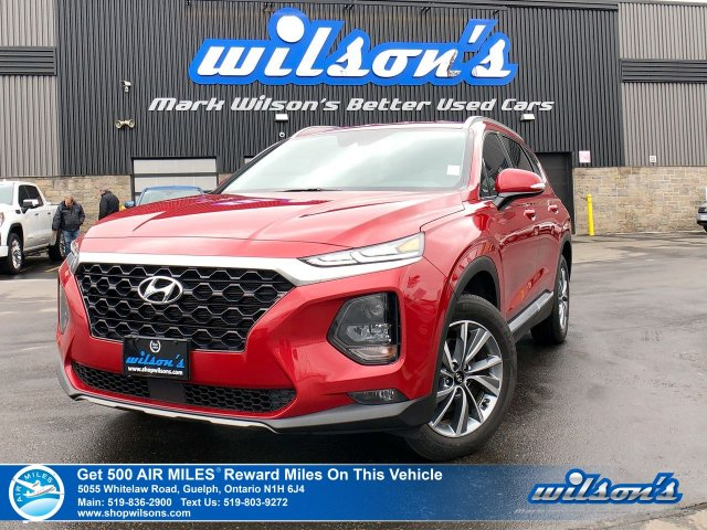 Certified Pre-Owned 2019 Hyundai Santa Fe Preferred AWD - Bluetooth, Rear Camera, Apple Car Play, Blind Spot Monitor, Heated seats!