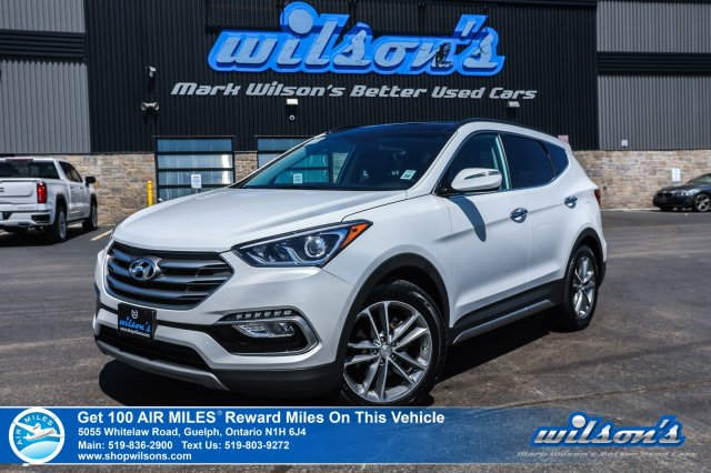 Certified Pre-Owned 2018 Hyundai Santa Fe Sport SE 2.0T AWD - Leather, Sunroof, Heated Steering + Seats, Power Seat, Bluetooth