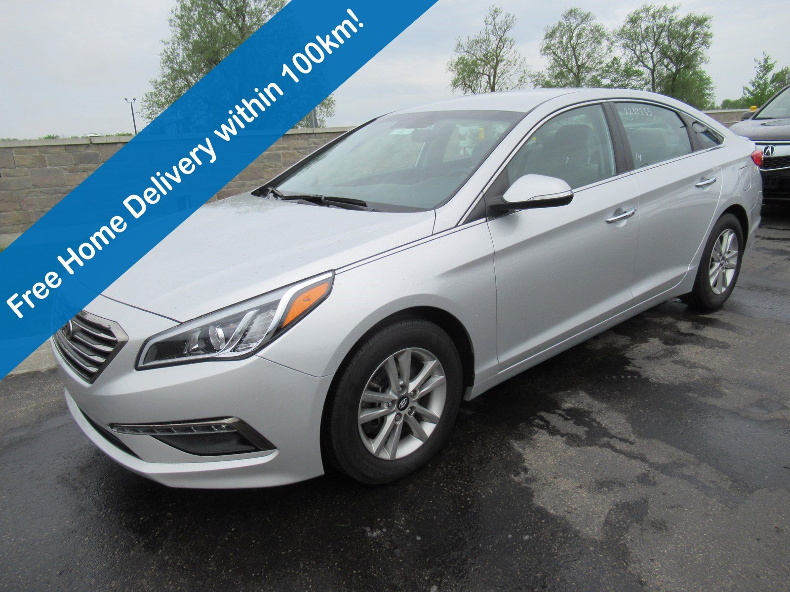 Certified Pre-Owned 2015 Hyundai Sonata GLS, Reverse Camera, Heated Seats+Steering Wheel, Blindspot Monitor, Keyless Entry, Alloys & More!