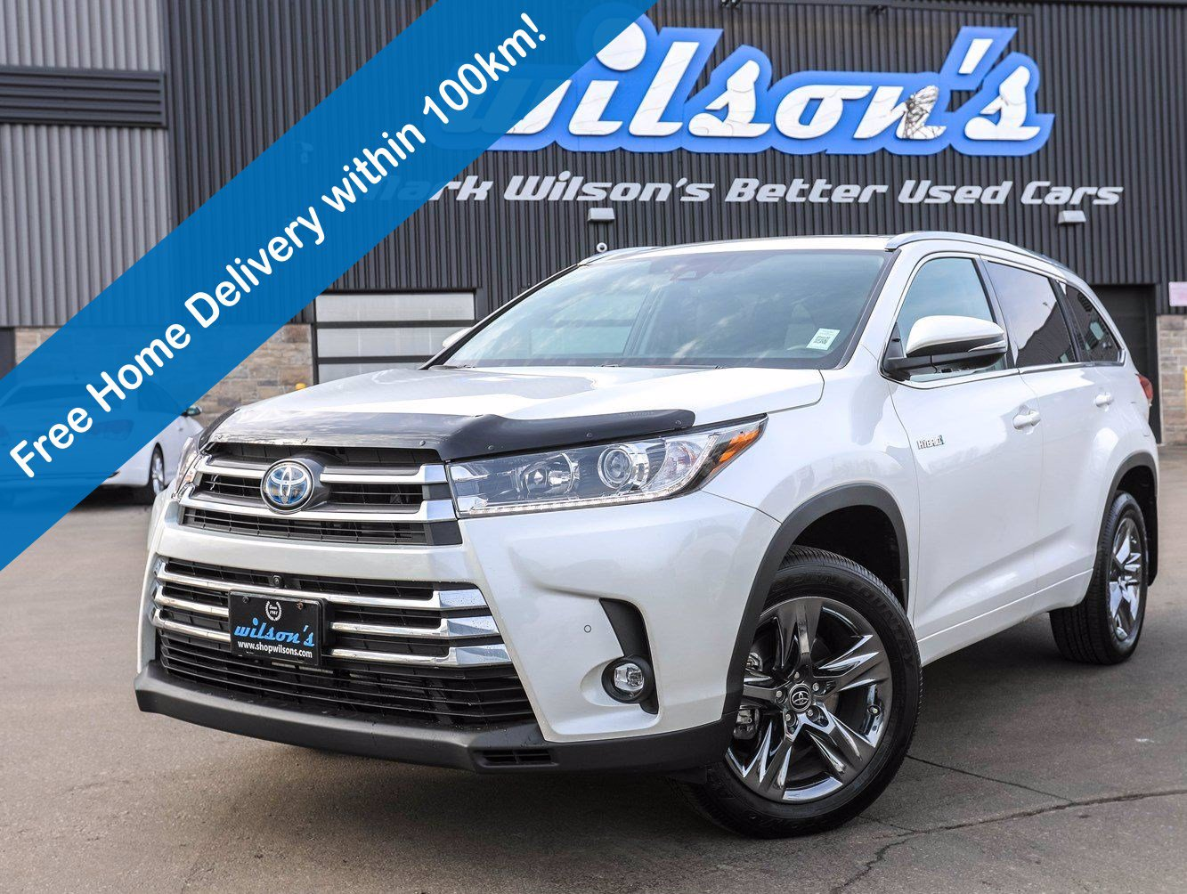 Certified Pre-Owned 2019 Toyota Highlander Hybrid Limited, Leather, Navigation, Sunroof, Heated + Cooled Seats, 360 Camera and more!