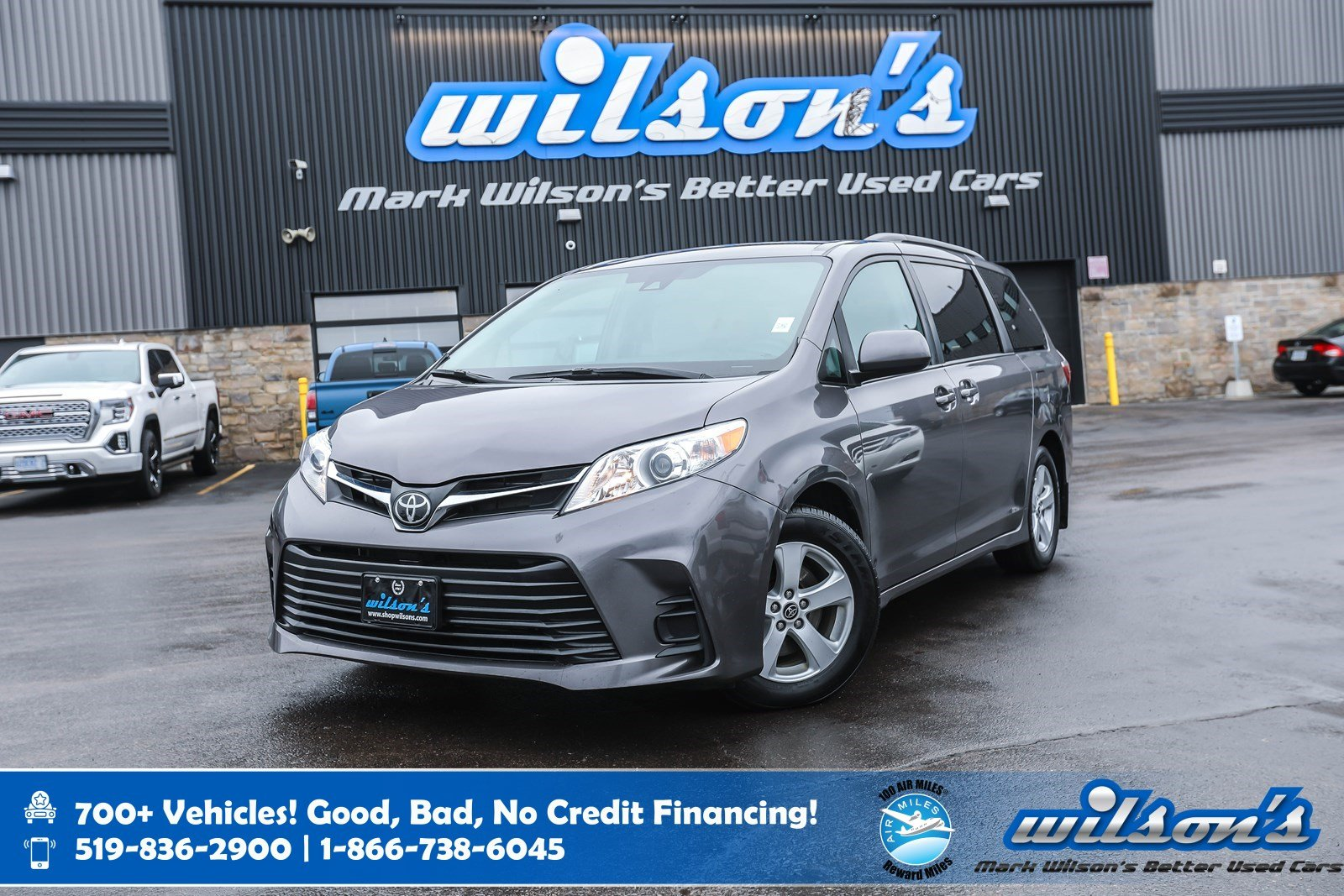 Certified Pre-Owned 2019 Toyota Sienna LE Apple CarPlay, Heated Seats, Power Sliding Doors, Toyota SafetySense, Bluetooth 8 Pass, and more!