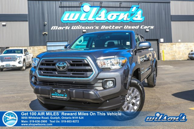 Certified Pre-Owned 2019 Toyota Tacoma SR5 V6 4x4 – Rear Camera, Bluetooth, Lane Departure Alert, Collision Warning, & More!