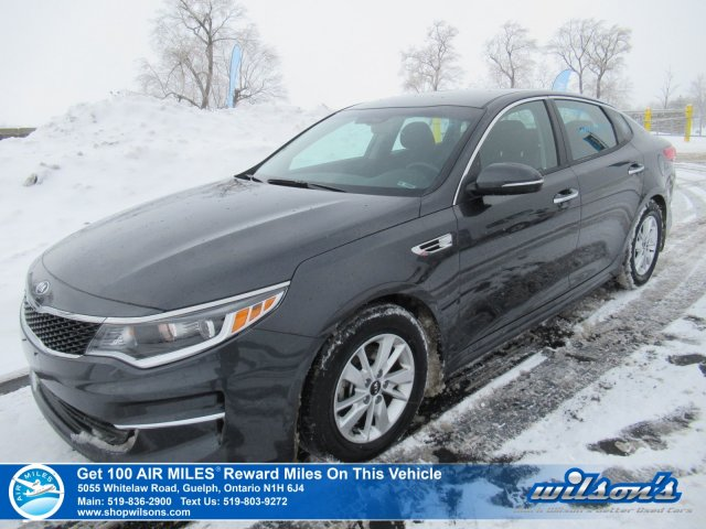 Certified Pre-Owned 2018 Kia Optima LX - Bluetooth, Heated Seats, Steering Radio Controls, Power Group, and more!