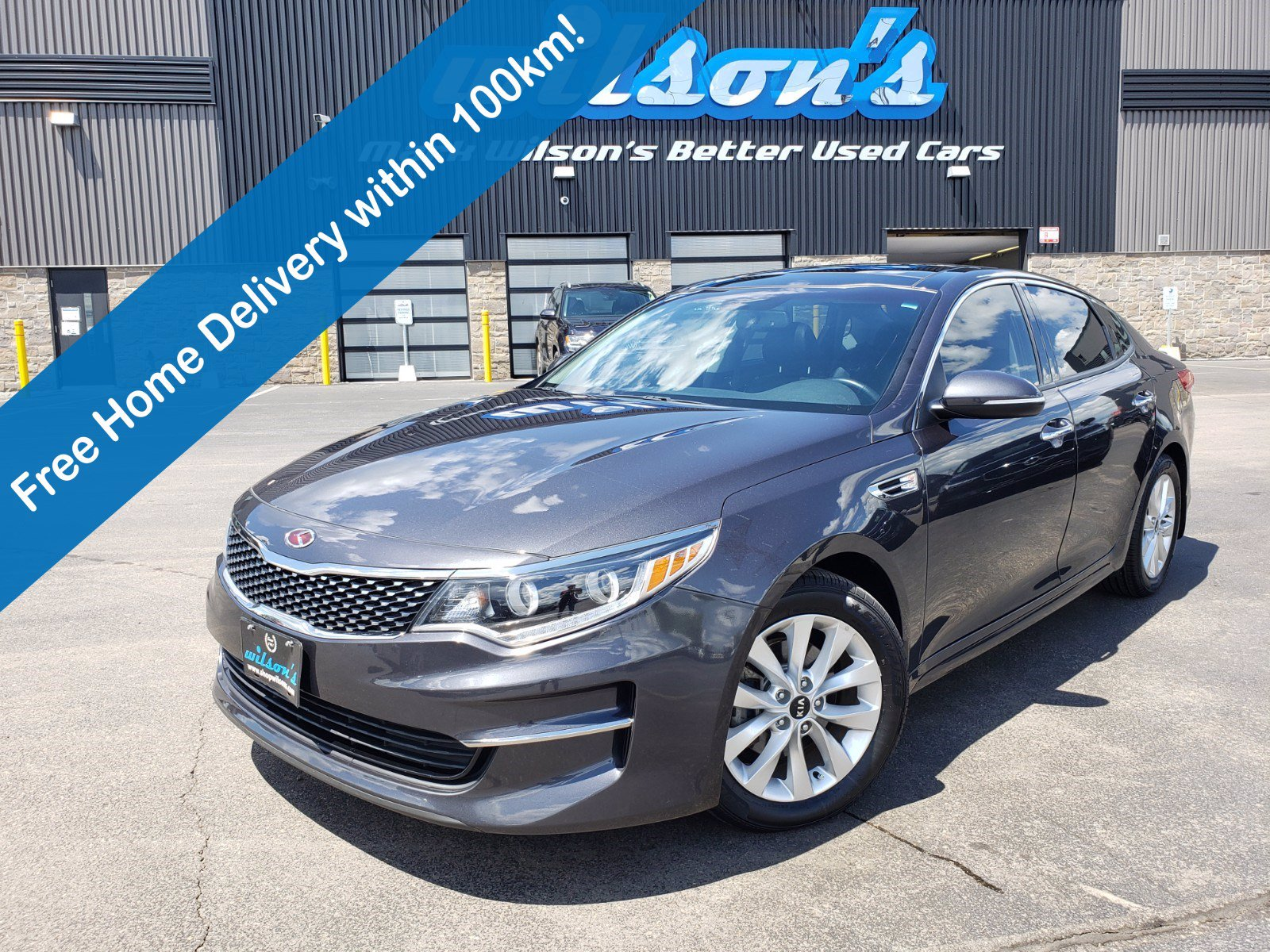 Certified Pre-Owned 2016 Kia Optima EX, Leather, Navigation, Sunroof, New Tires, Heated + Cooled Seat, Rear Camera, Mem Seat, Bluetooth