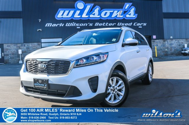Certified Pre-Owned 2019 Kia Sorento LX AWD - Rear Camera, Bluetooth, Heated Seats & Steering, Apple CarPlay & Android Auto, & More!
