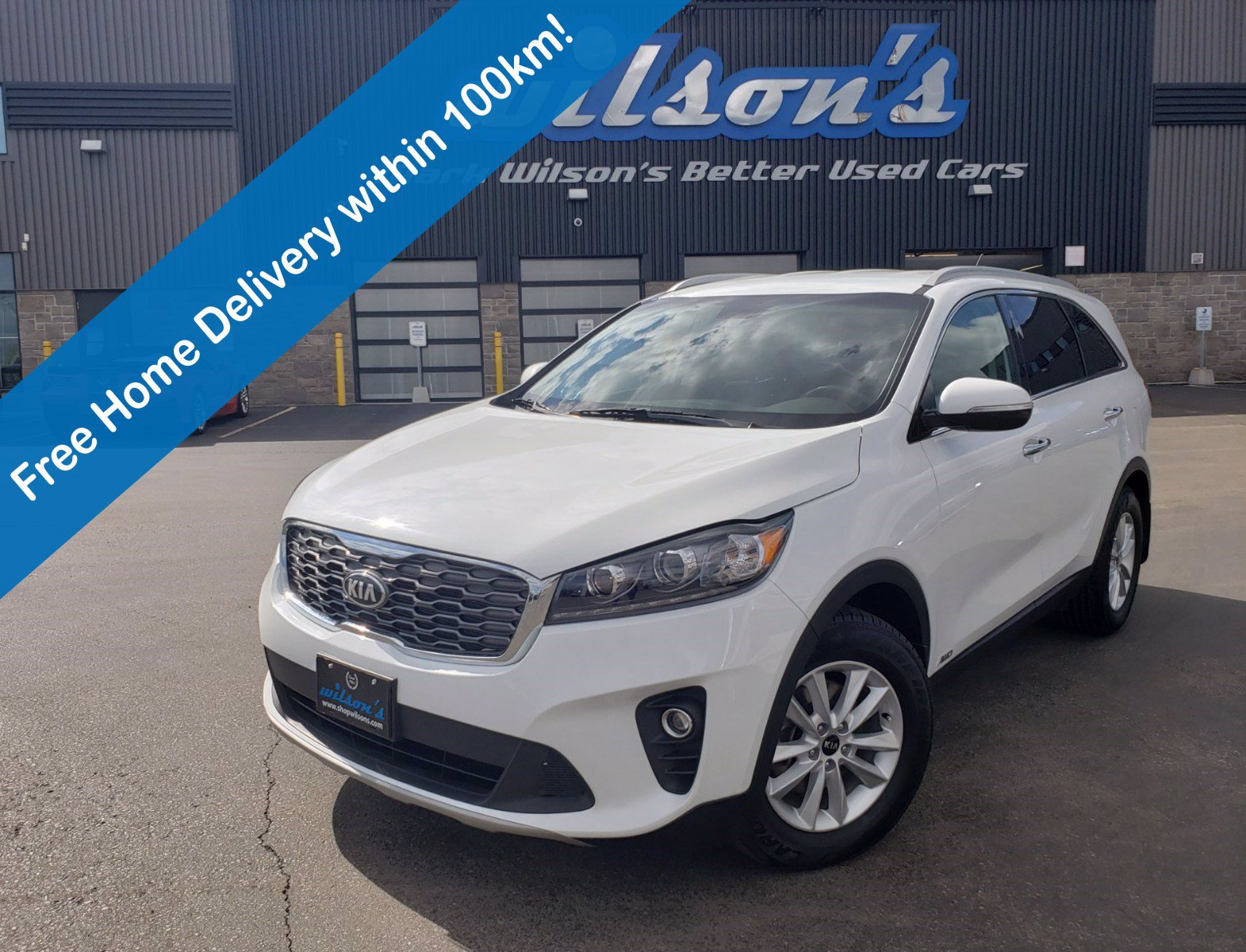 Certified Pre-Owned 2019 Kia Sorento EX AWD, Leather, 7 Passenger, Heated Steering & Seats, Rear Camera, Bluetooth & More!
