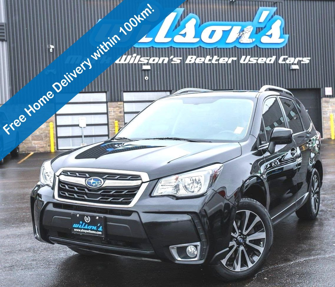 Certified Pre-Owned 2017 Subaru Forester XT Limited AWD, Leather Trim, Sunroof, Rear Camera, Blindspot Alert, Heated + Power Seat and more!