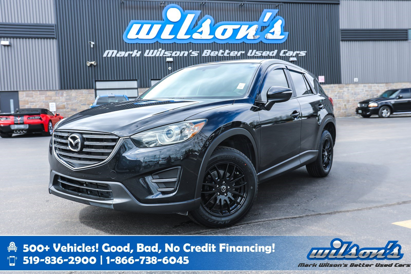Certified Pre-Owned 2016 Mazda CX-5 GX with NEW TIRES! Push Button Start, Cruise Control, Power Package, Steering Radio Controls & more!