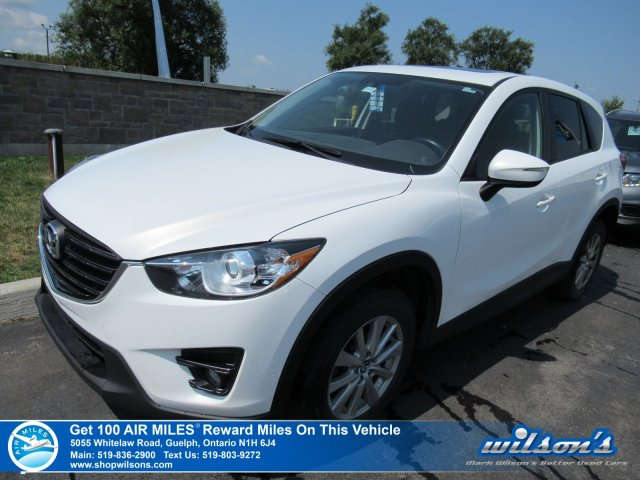 Certified Pre-Owned 2016 Mazda CX-5 GS AWD - Sunroof, Navigation, Bluetooth, Rear CAmera, Blind Spot Monitor & More!